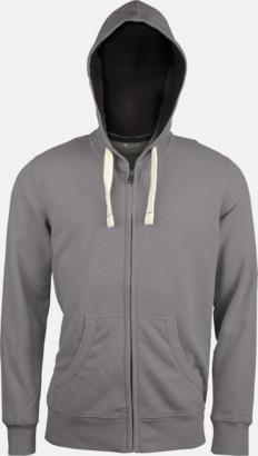 Vintage Grey (herr) Kvalitetströjor i herr- & dammodell med reklamtryck