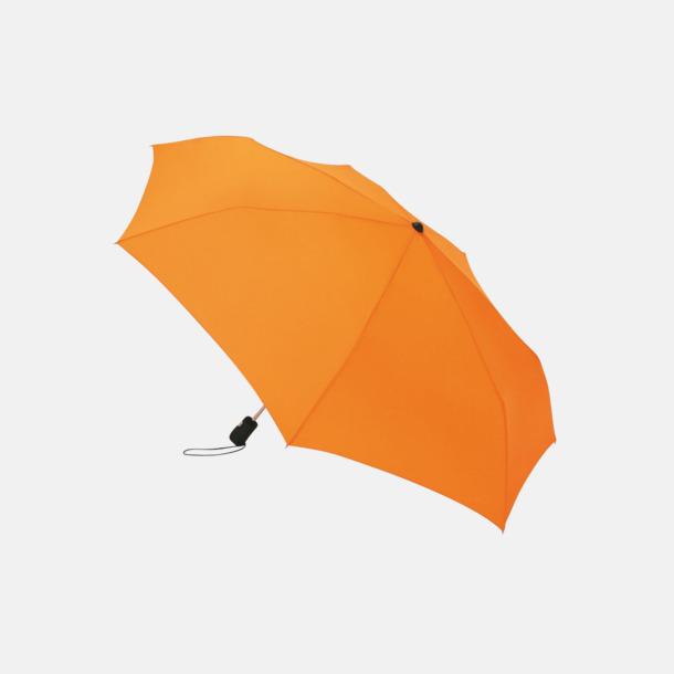 Orange Basildon kompakt - små paraplyer med reklamtryck