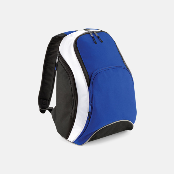 Bright Royal/Svart/Vit Ryggsäckar med reklamtryck