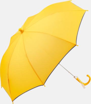 Gul Säkra barnparaplyer med eget tryck