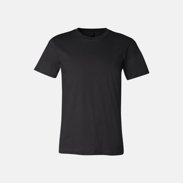 Svart T-shirts för herr och dam - med reklamtryck