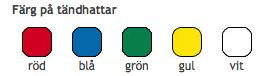 Standardfärger Tändstickor med reklamtryck