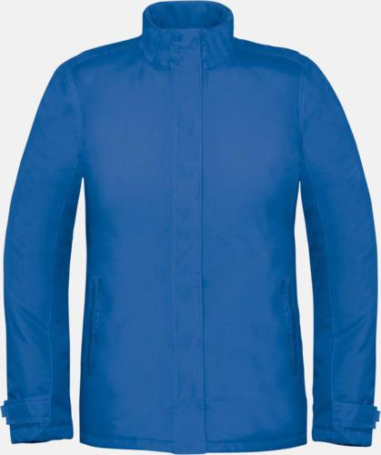Royal Blue (dam) Vinterparka i herr- och dammodell med reklamtryck