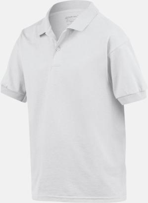 Billiga barnpikétröjor med tryck eller brodyr
