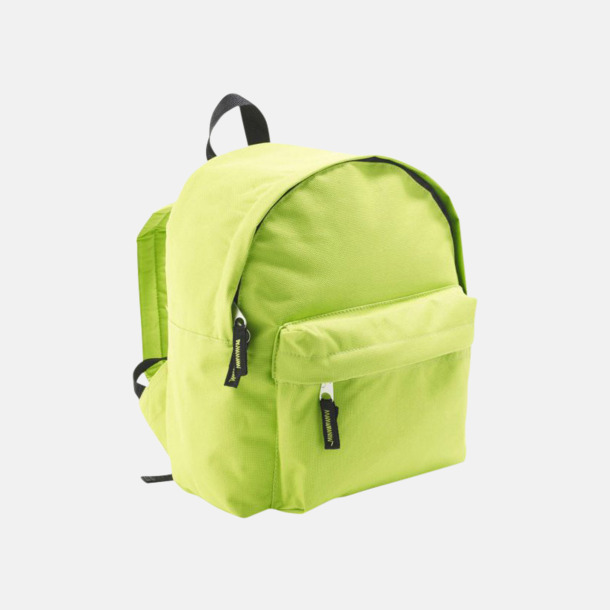 Apple Green Juniorryggsäckar med reklamtryck