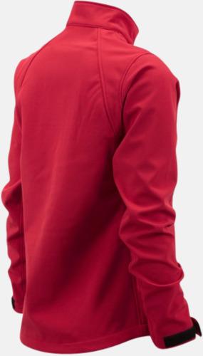 Softshell-jackor i dammodell med reklamtryck