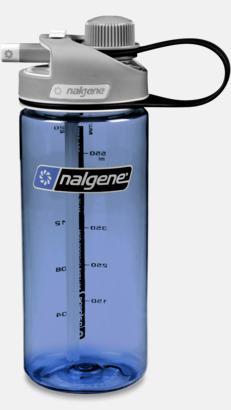 Blå Vattenflaska med multidinklock