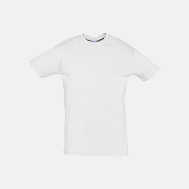 Ash (heather) Billiga unisex t-shirts i många färger med reklamtryck