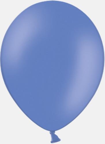 017 Cornflower blue pms 2727 Reklamballonger med fototryck