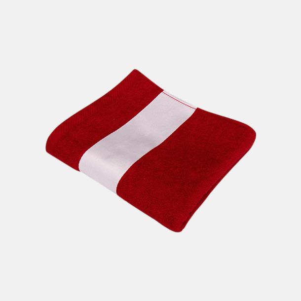 Paprika Red Handdukar i flera storlekar - med sublimeringstryck