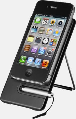 Mobilställ med touchpenna - med tryck eller gravyr