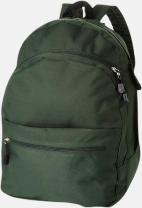 Grön Trendigt designade ryggsäckar med tryck
