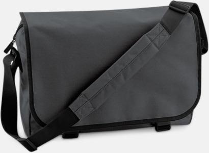 Graphite Grey/Svart Billiga väskor med reklamtryck