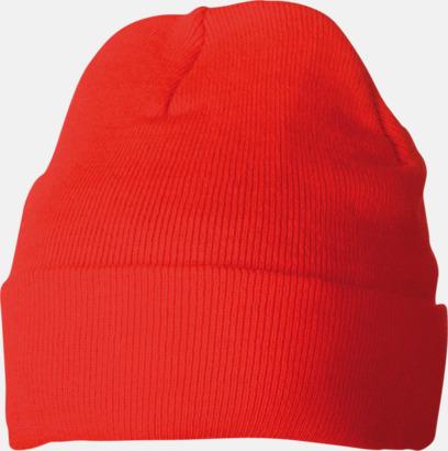 Röd Vintermössa med Thinsulate