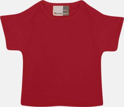 Fire Red T-shirts för de minsta barnen - med tryck