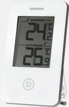 Termometrar med eller utan klocka - med reklamtryck
