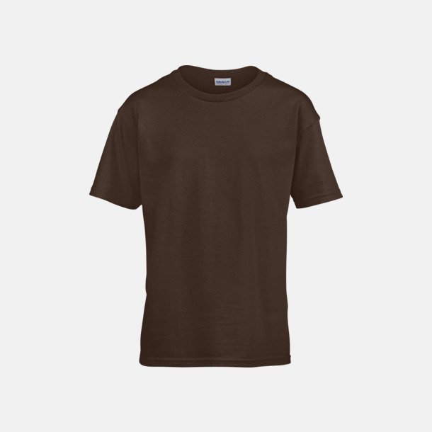 Dark Chocolate Billiga barn t-shirts med reklamtryck