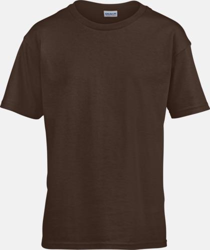 Dark Chocolate Billiga t-shirts med reklamtryck