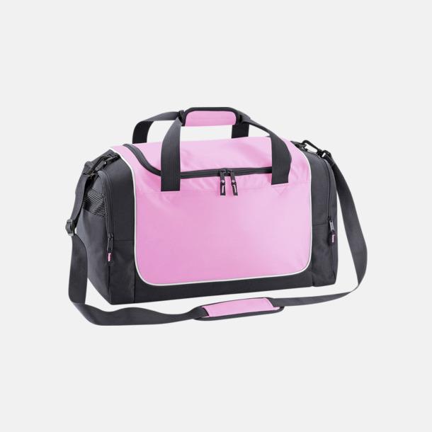Classic Pink/Graphite Grey/Vit Kompakta träningsväskor med reklamtryck