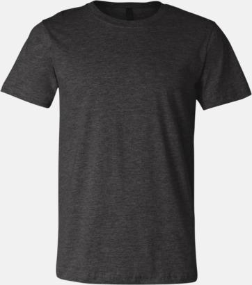 Dark Grey Heather T-shirts för herr och dam - med reklamtryck