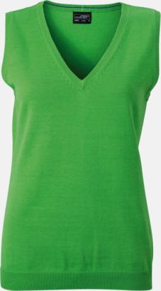 Grön Pullovers med eget tryck