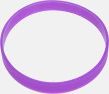 Svart termos med färgat silikonband - med reklamtryck