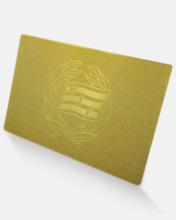 Medlemskort i 24 karat guld