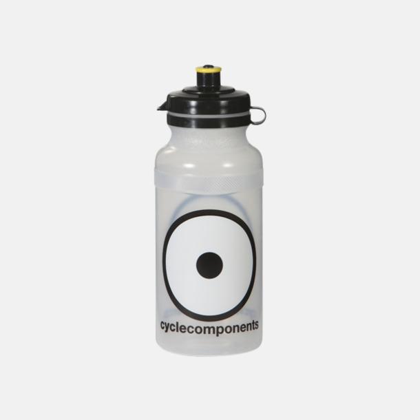 Transparent Vattenflaskor i 4 storlekar med reklamtryck