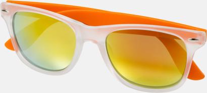 Orange (2) Snygga och säkra solglasögon med färgade linser - med reklamtryck