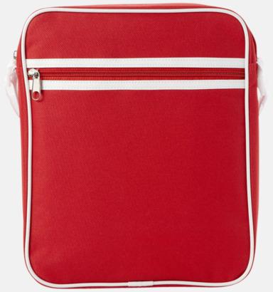 Röd Liten väska med retrokänsla