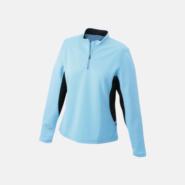 Ocean/Svart Träningskläder med eget tryck