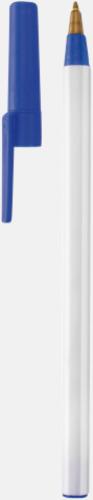 Bläckpennor med lock - med reklamtryck