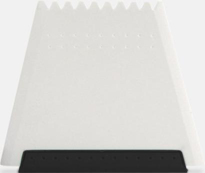 Svart Högkvalitativa isskrapor med fototryck