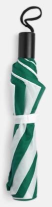 Grön/Vit Kompaktparaply i många färgalternativ