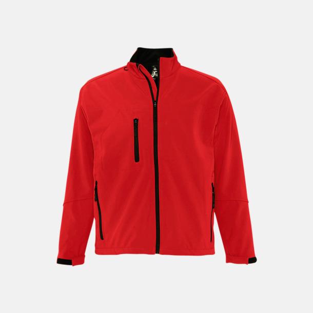 Pepper Red (herr) Softshell jackor i herr- & dammodell med reklamtryck