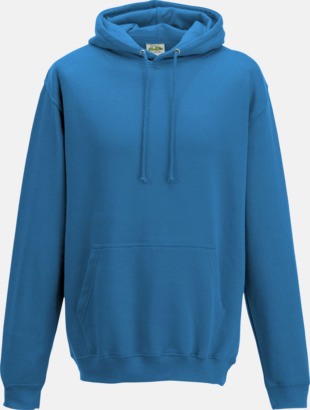 Sapphire Blue Billiga collegetröjor i unisexmodell - med tryck