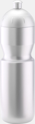 Ljus silver (750 ml) Bulb-vattenflaskor i 4 storlekar med digitaltryck