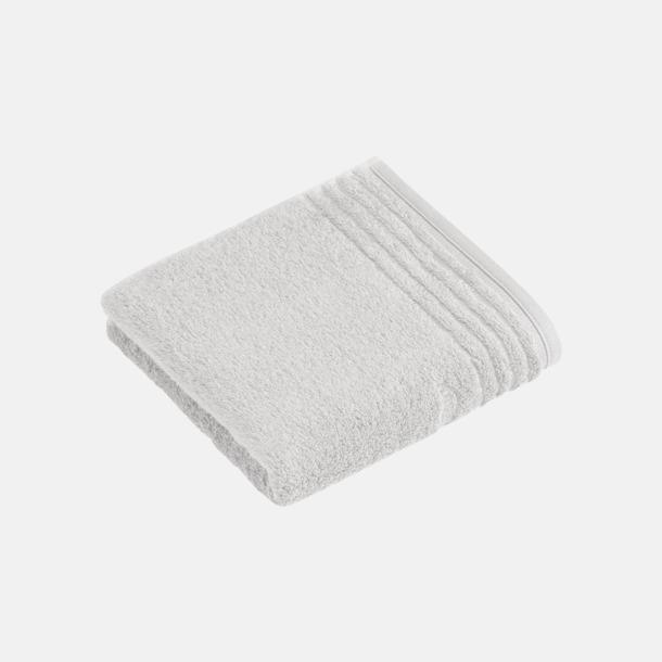 Ljusgrå Handdukar i 3 storlekar med reklambrodyr