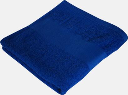Royal Blue Billiga handdukshandskar med brodyr