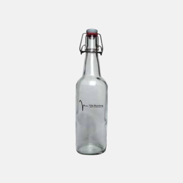 50 cl (patentkork) Tomma glasflaskor i flera storlekar med reklamtryck