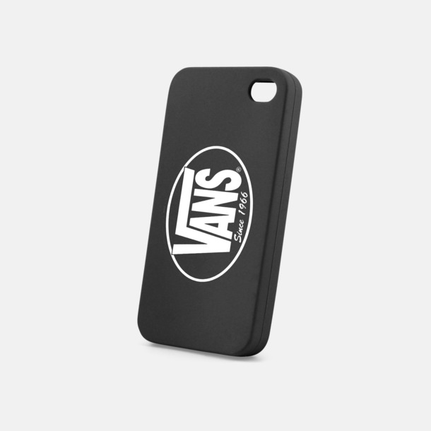 Svart Mjuka mobilskal för iPhone