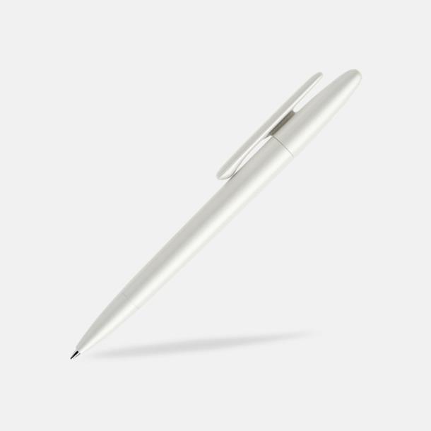 Pärlemor (varnished matt) Prodir pennor i matta, solida färger - med tryck