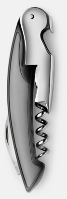 Grå / Silver Vackra vinöppnare med tryck