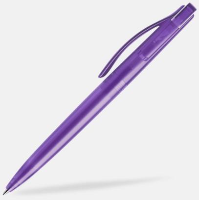 Lila (frostad) Prodir pennor i färger med tryck