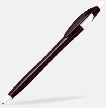 Svart Riktigt billiga bläckpennor med tryck