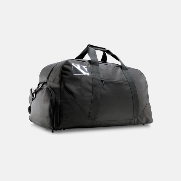 Res- och sportväska med skoficka - med tryck