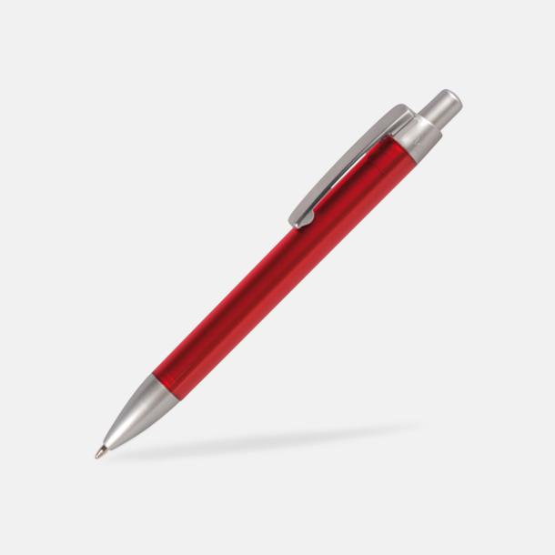 Röd Färgglada bläckpennor med digitaltryck