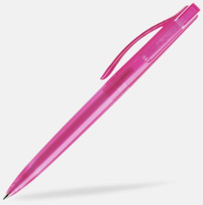 Rosa (frostad) Prodir pennor i färger med tryck
