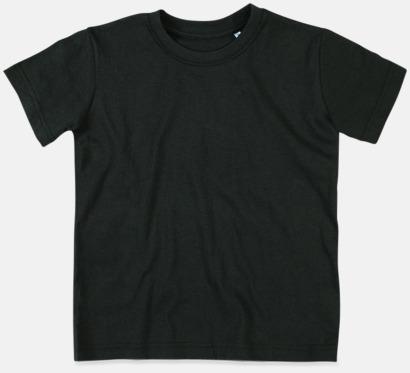 Black Opal (crew-neck barn) Ekologiska t-shirts i flera modeller och många färger - med reklamtryck