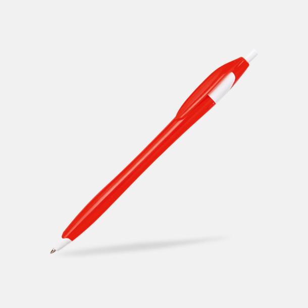 Röd Riktigt billiga bläckpennor med tryck
